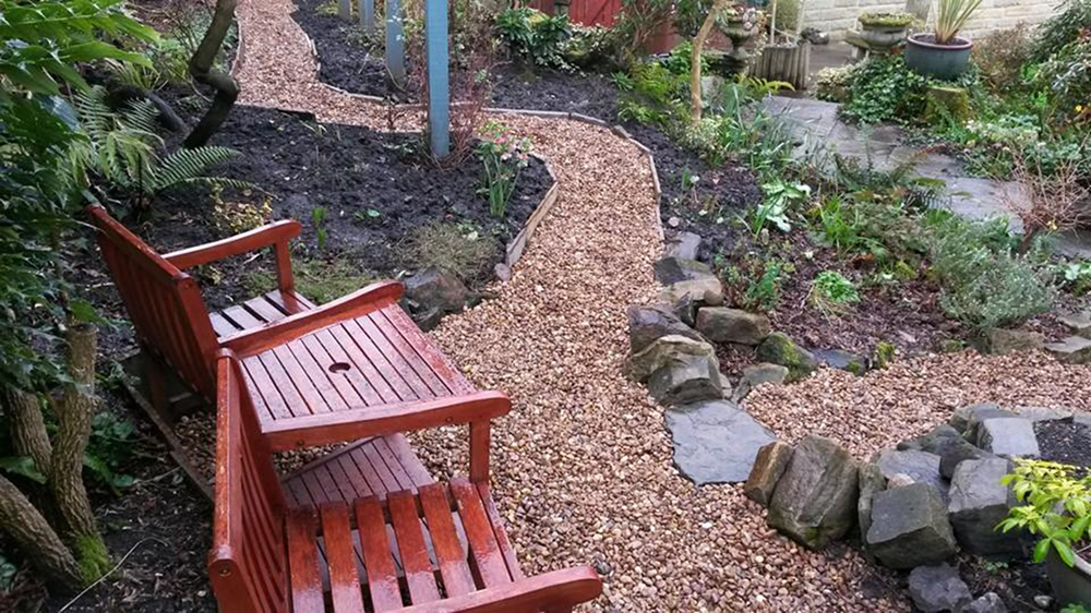 Hard Landscaping - Improving a footpath