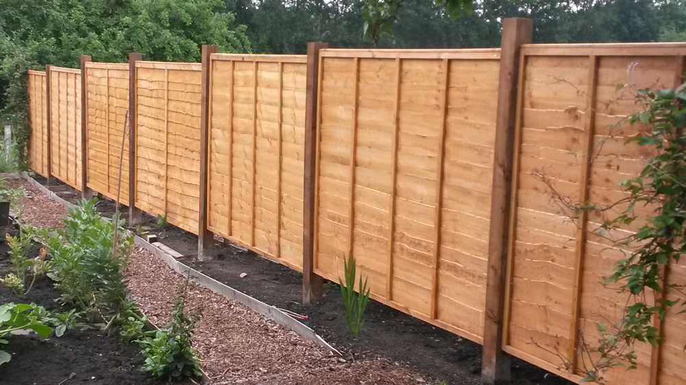 Erecting a Fence- Hard Landscaping Project