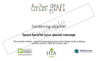 Gardening Voucher Example